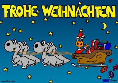 Kostenlose Bilder Frohe Weihnachten.Frohe Weihnachten Tippy Kostenlose Ecards Mit Der Neuen Comicfigur